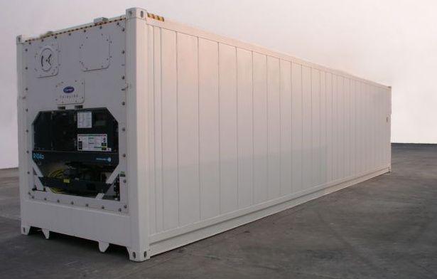 Рефконтейнер низкотемпературный на базе 40 футового ж/д контейнера