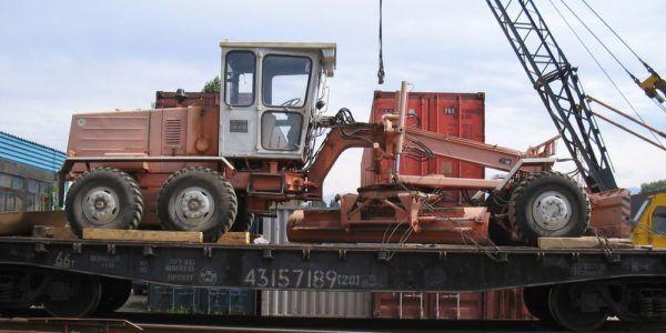 Железнодорожные перевозки негабаритных грузов